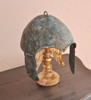 Scythian bronze helmet.  Kuban type.  About 7 - 6th century BC Chr. 2