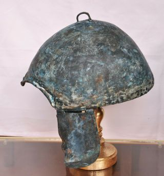 Scythian bronze helmet.  Kuban type.  About 7 - 6th century BC Chr. 3