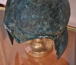 Scythian bronze helmet.  Kuban type.  About 7 - 6th century BC Chr. 7