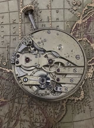 Unsign Patek Philippe Quarter Repeater Pocket Watch Movement /tiffany
