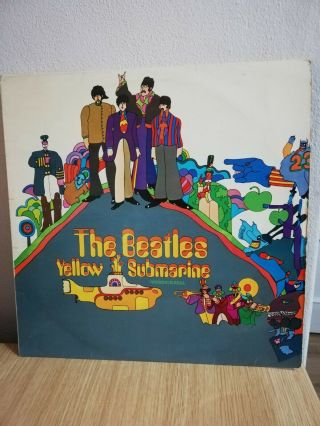 The Beatles - Yellow Submarine Rare Ppcs 7070 Odeon