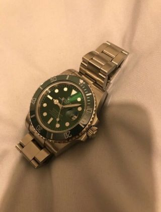 Exclusive Rolex Submariner Hulk Rare Collectible