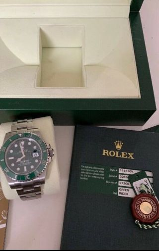 Exclusive Rolex Submariner Hulk Rare Collectible 4