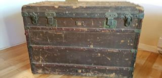 Vintage Louis Vuitton Steamer Trunk Large