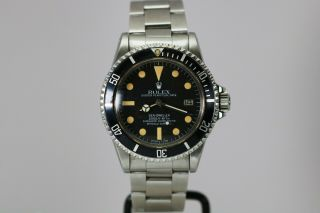 Rolex Sea - Dweller 1665 Vintage Automatic Dive Watch Circa 1970s
