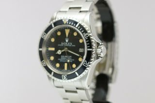 Rolex Sea - Dweller 1665 Vintage Automatic Dive Watch Circa 1970s 2