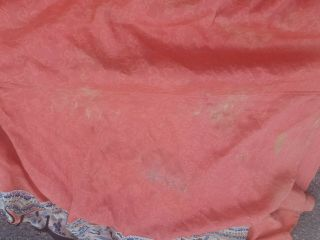 Antique 19 th Chinese silk embroidery robe textile dress 10