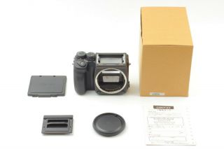 【amazing Rare In Box】 Contax 645 Af Camera Body Only From Japan
