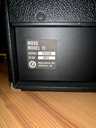 Moog Model 15 Limited - edition Reissue Modular Synthesizer MINTY RARE 10
