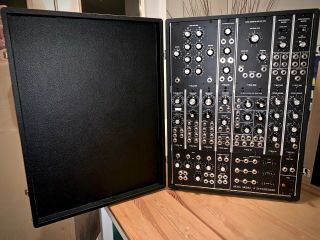 Moog Model 15 Limited - edition Reissue Modular Synthesizer MINTY RARE 11