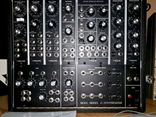 Moog Model 15 Limited - edition Reissue Modular Synthesizer MINTY RARE 6