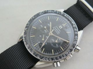 Vintage Omega Speedmaster 145.  012 Cal 321 Don Bezel Watch Serviced 1967