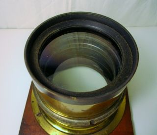 Antique Brass Lens; Voigtlaender & Sons Opt.  Co.  Collinear Series II No.  8 4