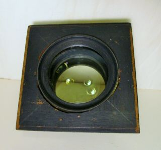 Antique Brass Lens; Voigtlaender & Sons Opt.  Co.  Collinear Series II No.  8 5