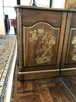 white furniture company dining room asian inspired Credenza 2