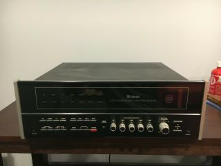 Vintage Mcintosh C31v - Audio/video Control Center - Ex.  Cond.