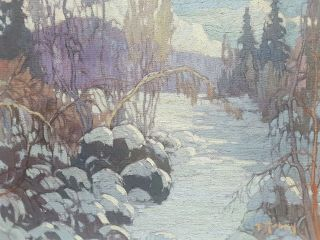 Vintage Canadian Painting Signed Listed Quebec Artist High Prices