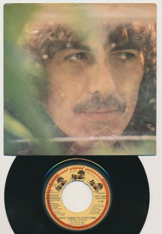 Beatles Ultra Rare George Harrison