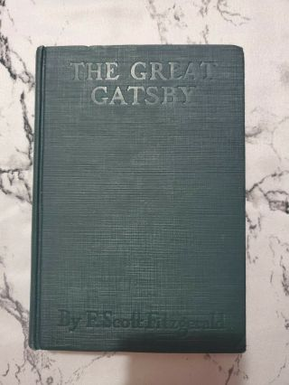 The Great Gatsby (first Edition/first Printing) 1925 F.  Scott Fitzgerald Rare