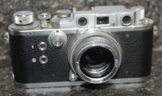 "Rare Reid Rangefinder Iii Type I Upgraded To Type 2 Camera Anastigmat 2 "" F2 Lens"