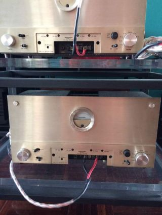 2 x Marantz Model 9 Mono Block Power Amplifiers Vintage Mono Tube Amps 2