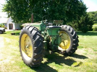 1957 John Deere 620 Antique Tractor 6
