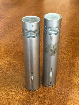 2 Neumann Km84 Vintage Condenser Microphones - Consecutive Serial Numbers