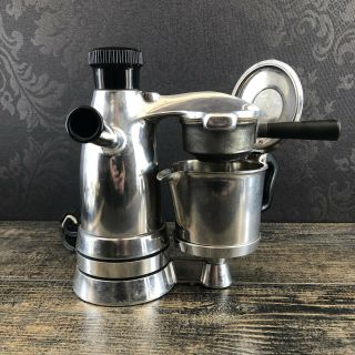 Vintage Salton Vesuviana Italian Espresso Maker Electric Coffee Atomic - Era Ex - 3