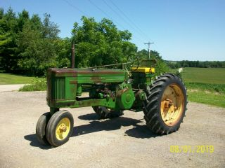 1956 John Deere 520 Antique Tractor