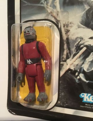 Vintage STAR WARS error Kenner TOLTOYS Snaggletooth on Yoda ESB 41 Bck TEST CARD 5