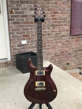 Paul Reed Smith Prs Hollow Body Rare Plum Finish Plays Great
