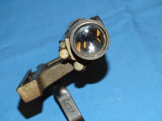 Rare WWII German Gw ZF4 dow Rifle Scope w/ Mount & Leather Lense Cover 12
