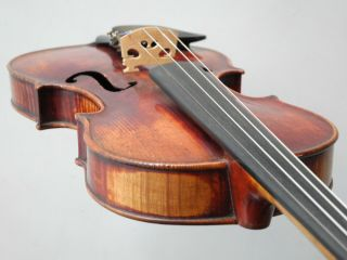 Fine Old French Labeled Violin Rich Tone