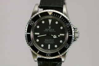 Rolex Submariner Ref 5513 Vintage Automatic Dive Watch Circa 1960s Meters First