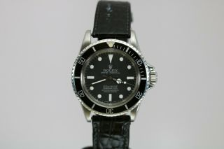 Rolex Submariner Ref 5513 Vintage Automatic Dive Watch Circa 1960s Meters First 2
