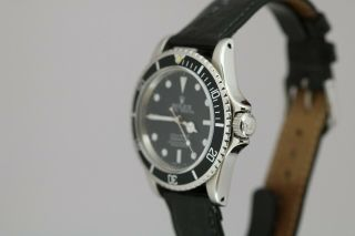 Rolex Submariner Ref 5513 Vintage Automatic Dive Watch Circa 1960s Meters First 9