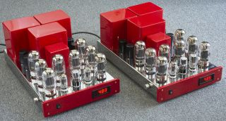 Antique Sound Labs Hurricane 200 Dt Tube Amp Pair Modified By Response Audio Asl