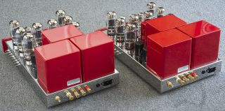Antique Sound Labs HURRICANE 200 DT Tube Amp Pair Modified by Response Audio ASL 2