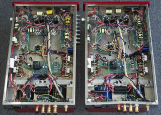 Antique Sound Labs HURRICANE 200 DT Tube Amp Pair Modified by Response Audio ASL 4