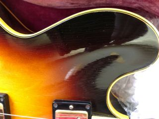 Gibson 1959 ES - 345 Stereo Sunburst with P.  A.  F 100 Vintage 10