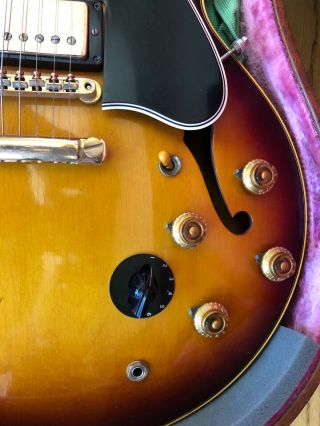 Gibson 1959 ES - 345 Stereo Sunburst with P.  A.  F 100 Vintage 6