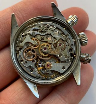 1960 ' s Vintage Rolex Cosmograph Daytona ref.  6240 with Black Dial 6239 6263 6265 11