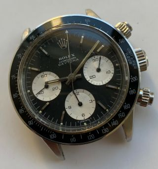 1960 ' s Vintage Rolex Cosmograph Daytona ref.  6240 with Black Dial 6239 6263 6265 2
