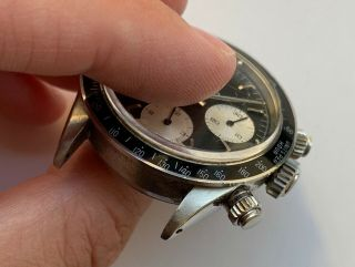 1960 ' s Vintage Rolex Cosmograph Daytona ref.  6240 with Black Dial 6239 6263 6265 4