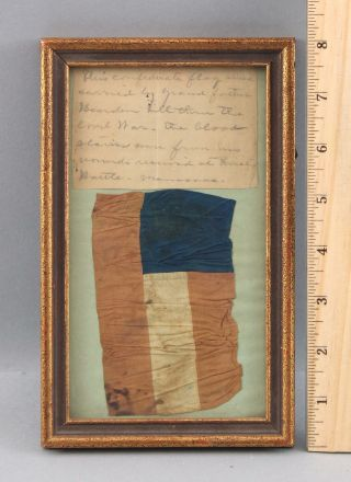 Antique Southern Reb Civil War BIBLE Flag Tintype Uniform Musket Sword Pistol 3