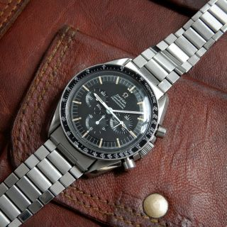 Omega Speedmaster 145.  012 Vintage 1967 Cal.  321 Don Bezel Step Dial Moon Watch