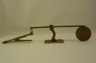 Collectable,  rare Antique Letter Scale for Rowland Hills Penny Postage 1839 5