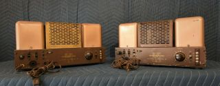 Rare Vintage Pair Acrosound Ultra - Linear Ii Vacuum Tube Power Amplifiers Hifi