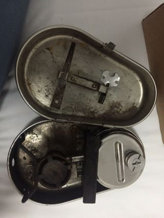Vintage Camping Field Valmet Stove Finland Army Military Stove