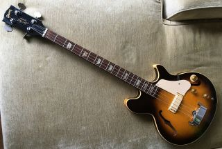 1973 Gibson Les Paul Signature Bass Guitar - Rare Tobacco Burst